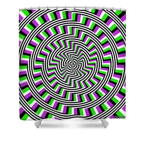 Self-moving Unspiral Shower Curtain