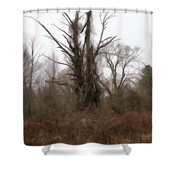 Unsplitten Love Shower Curtain