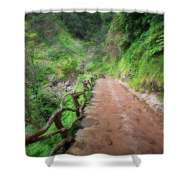 Until The Infinity Shower Curtain