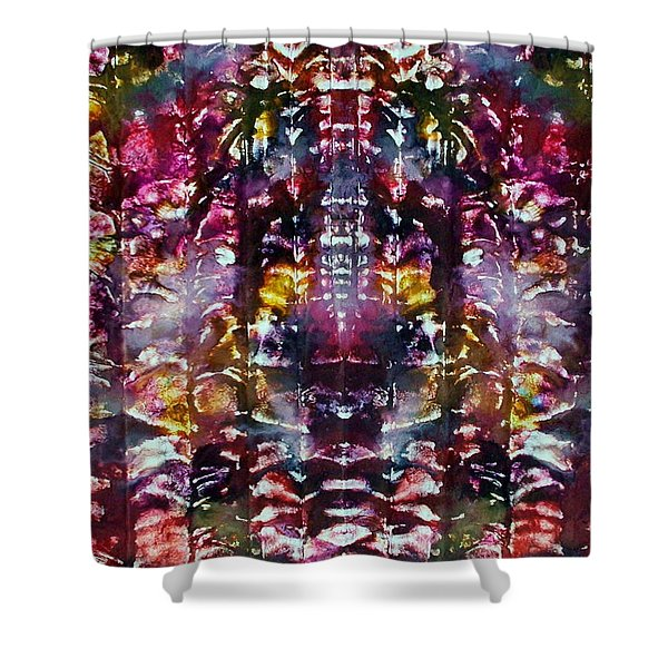 2-offspring While I Was  On The Path To Perfection 2 Shower Curtain