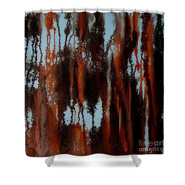 Sunset Of Duars Shower Curtain