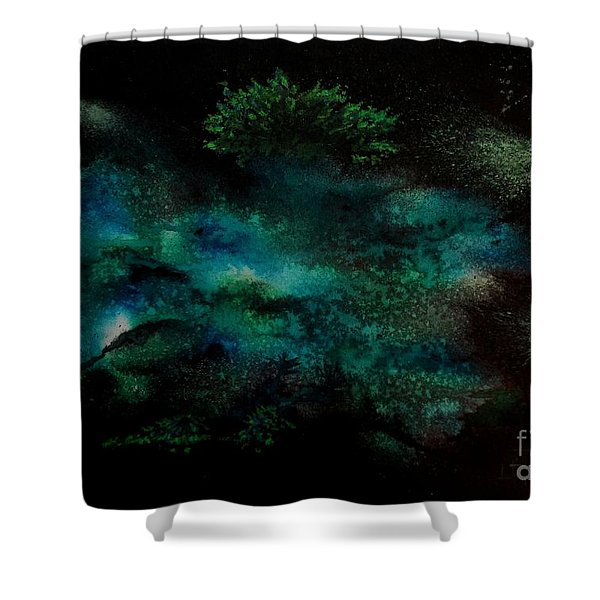 Plankton Shower Curtain