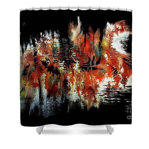 Typhoon Shower Curtain