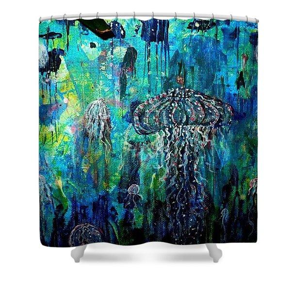 Ocean Deep Shower Curtain