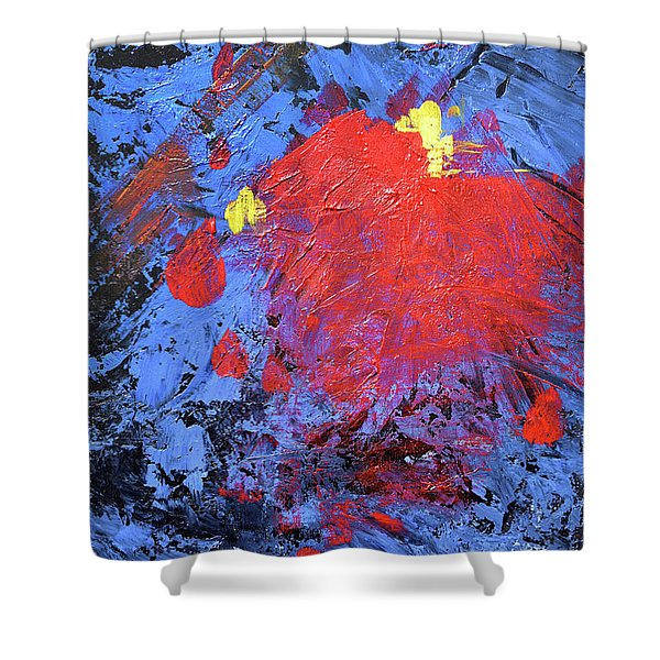 Untitled Abstract-7-817 Shower Curtain