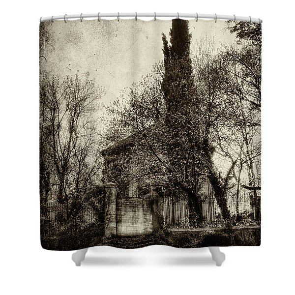 Untitled N.96 Shower Curtain