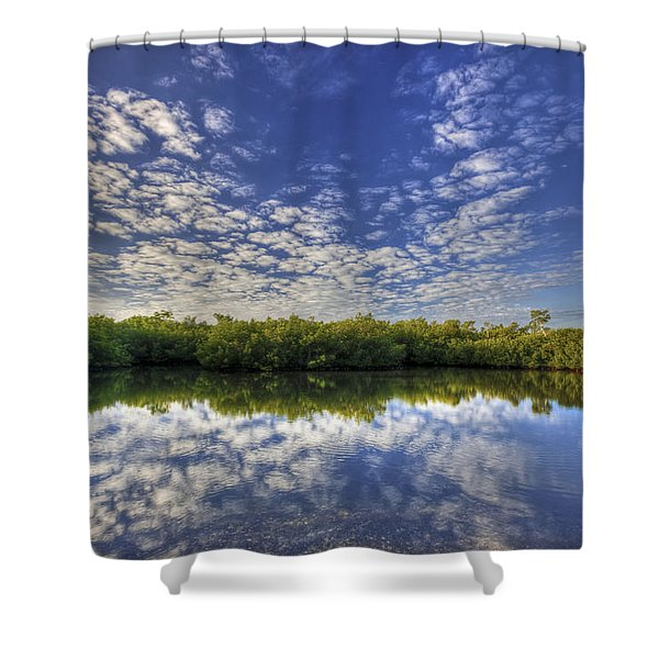 Unwind Shower Curtain
