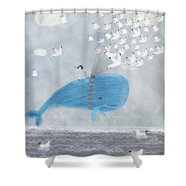 Up And Up Shower Curtain