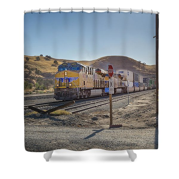 Up7472 Shower Curtain