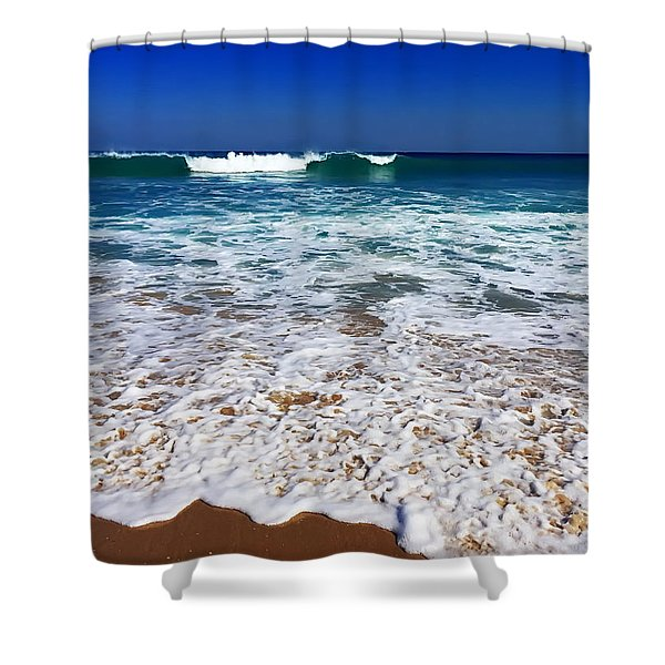 Upon Entry Shower Curtain