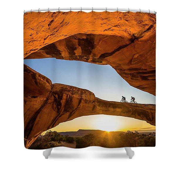Uranium Shower Curtain