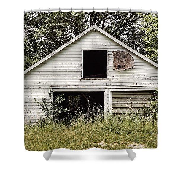 Urban Abandonment 3 Shower Curtain