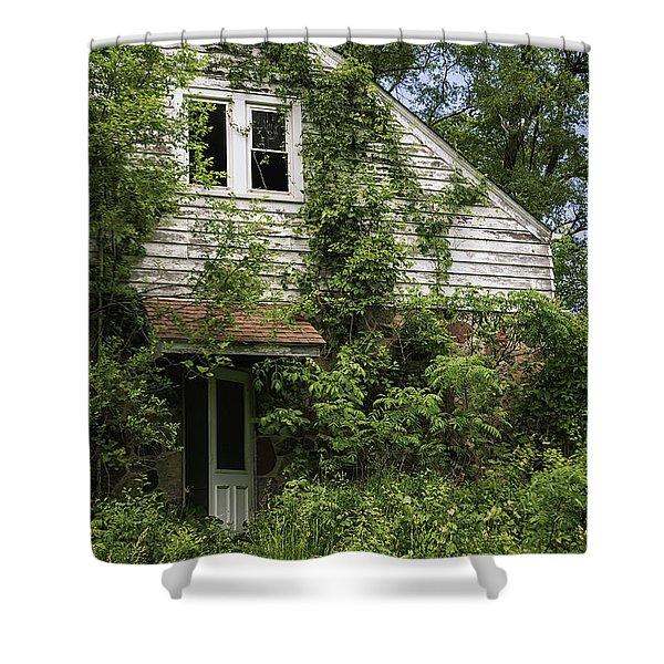 Urban Abandonment Shower Curtain