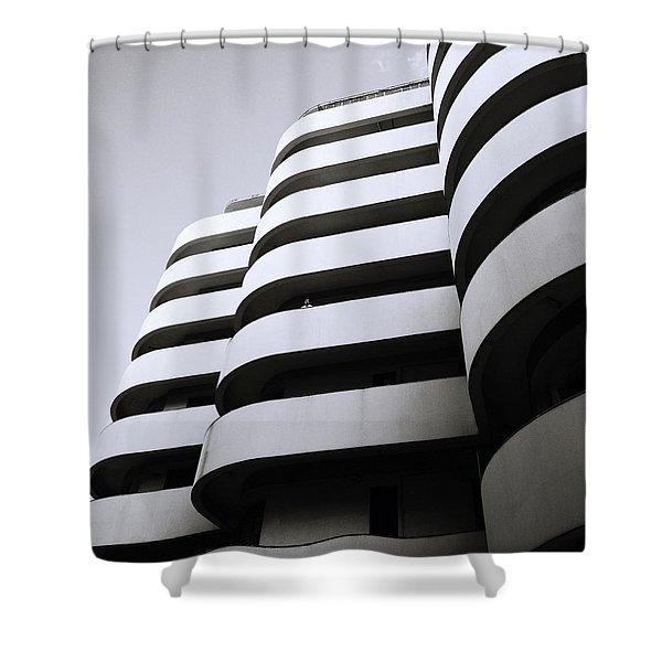 Urban Alienation Shower Curtain