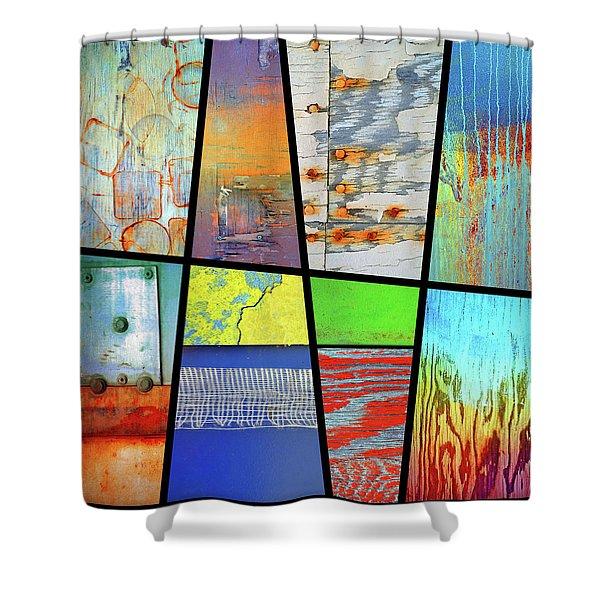 Urban Colours Shower Curtain
