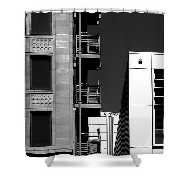 Urban Contrasts Shower Curtain