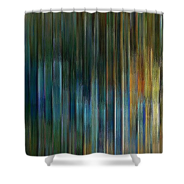 Urban Desert Shower Curtain
