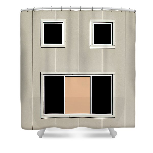 Urban Face Shower Curtain
