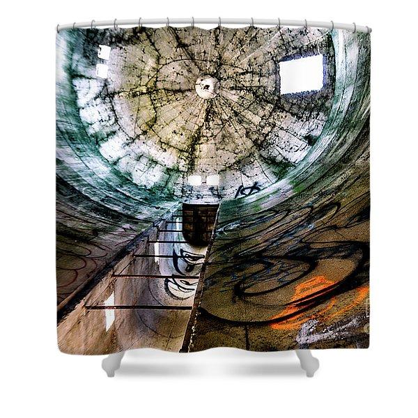 Urban Meets Rural Shower Curtain