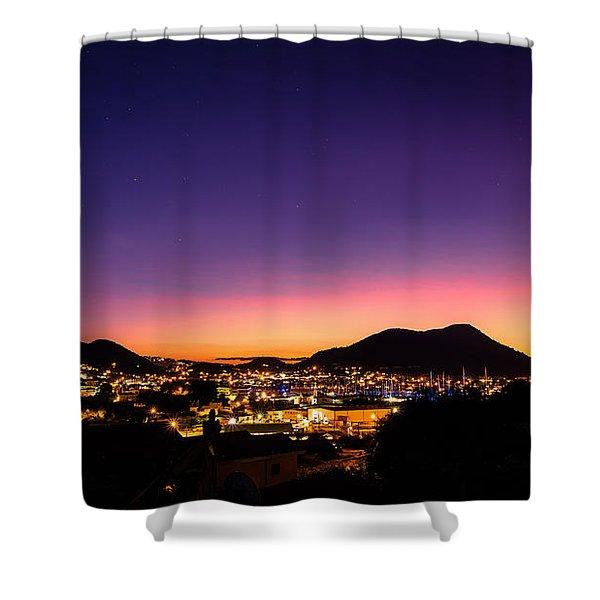 Urban Nights Shower Curtain