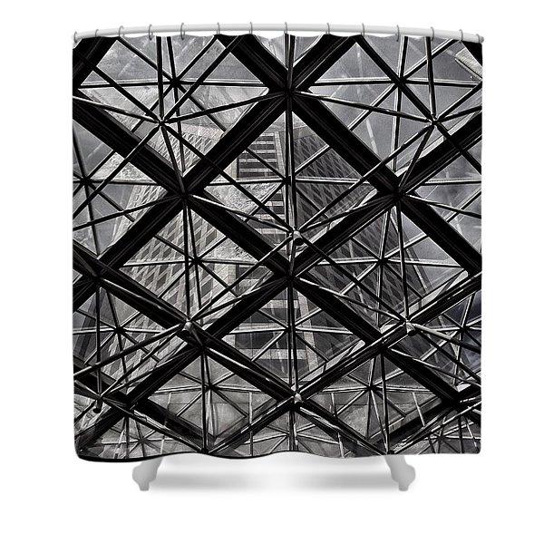 Urban Patterns - Sao Paulo  Shower Curtain
