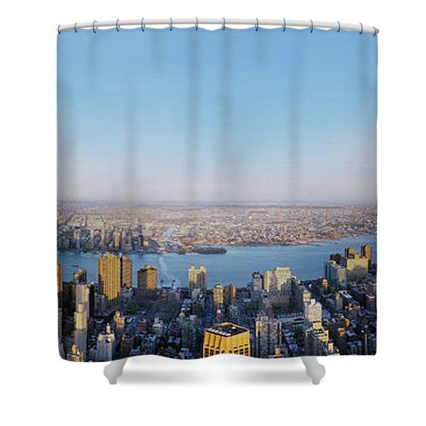 Urban Playground Shower Curtain