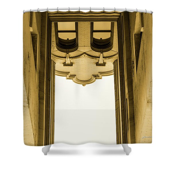 Urban Portals - Architectural Abstracts Shower Curtain