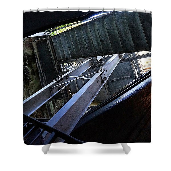 Urban Textures Shower Curtain
