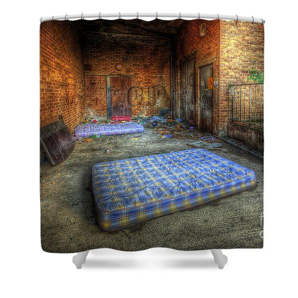 Urbex 1.0 Shower Curtain