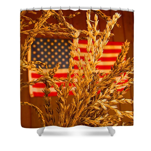 U.s. Wheat Shower Curtain