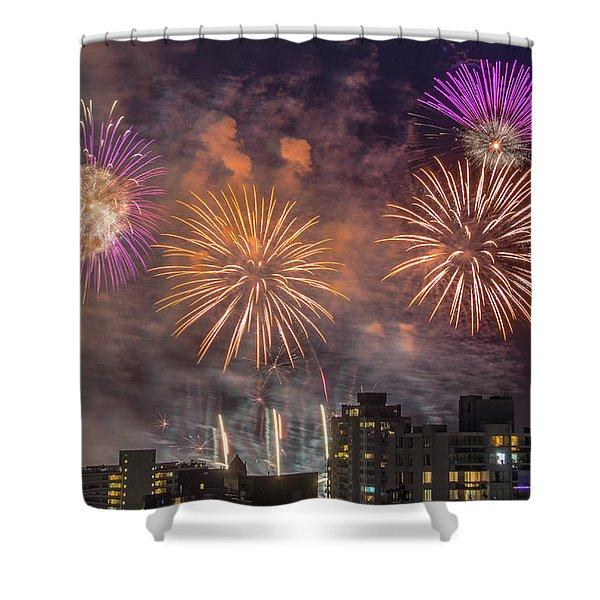 Usa 1 Shower Curtain