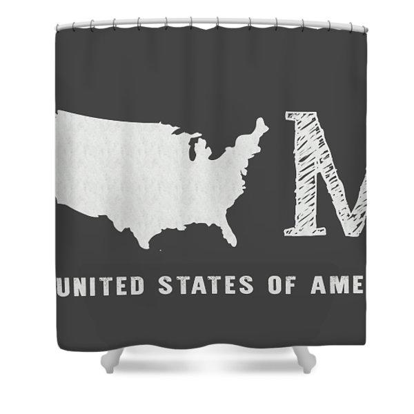 Usa Home Shower Curtain