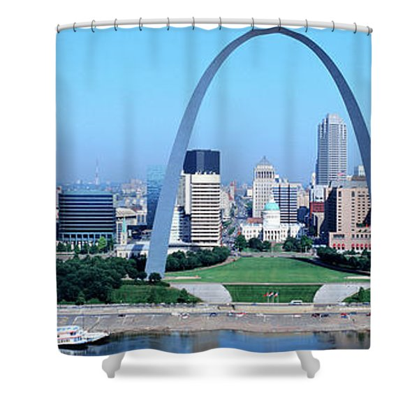 Usa, Missouri, St. Louis, Gateway Arch Shower Curtain