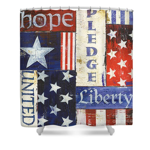 Usa Pride 1 Shower Curtain