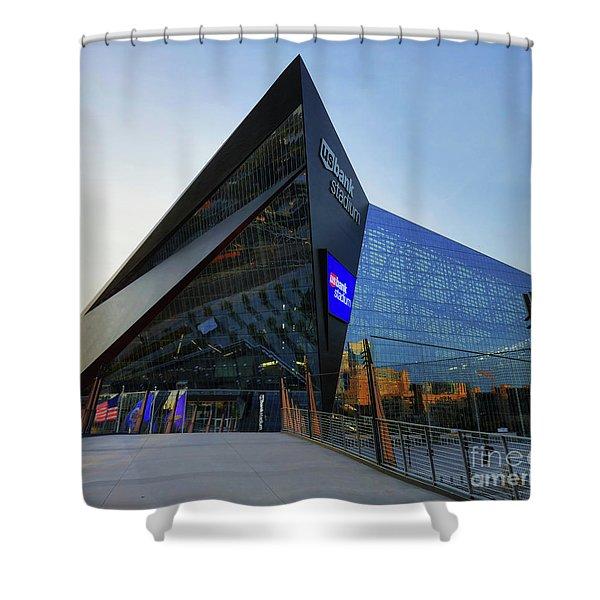 Usbank Stadium The Approach Shower Curtain