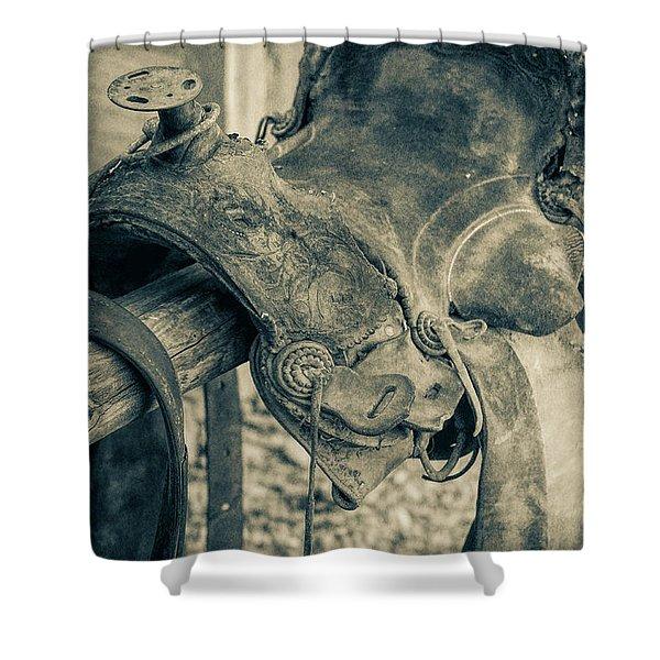 Used Saddle Shower Curtain