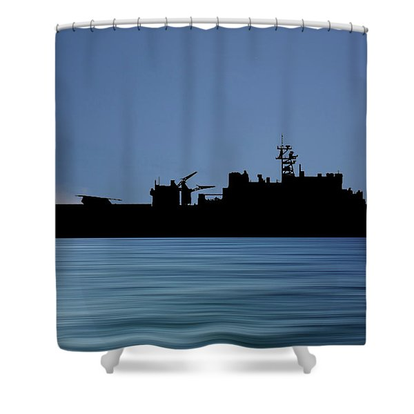 Uss Pearl Harbor 1996 V4 Shower Curtain