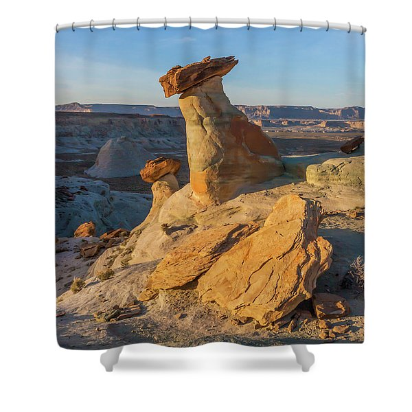 Utah Hoodoos At Sunset Shower Curtain
