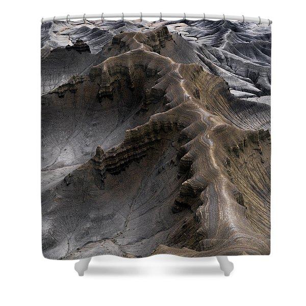 Utah Moonscape Shower Curtain