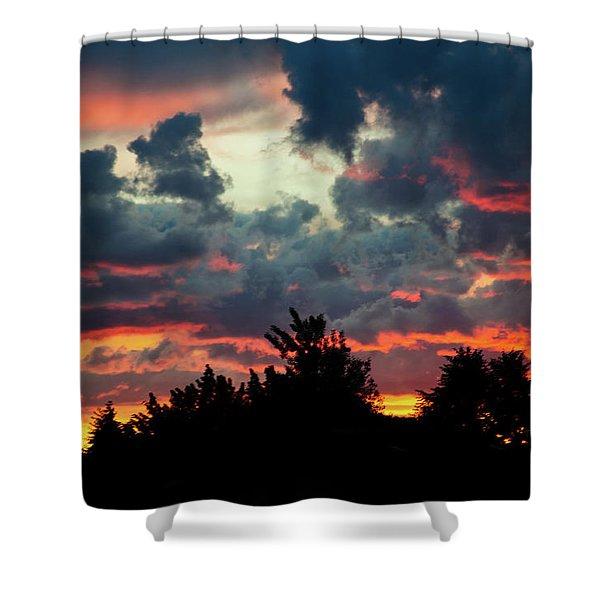 Utah Sunset Shower Curtain