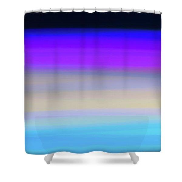 Uv Dawn Shower Curtain