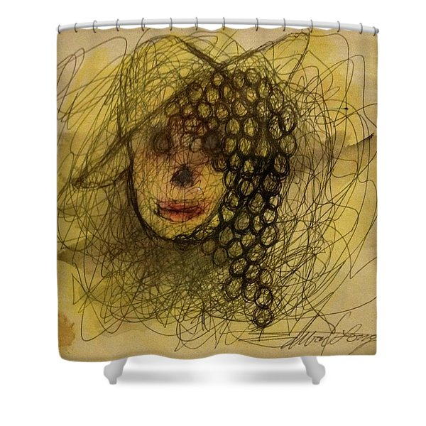 Uva Queen Of The Grapes Shower Curtain