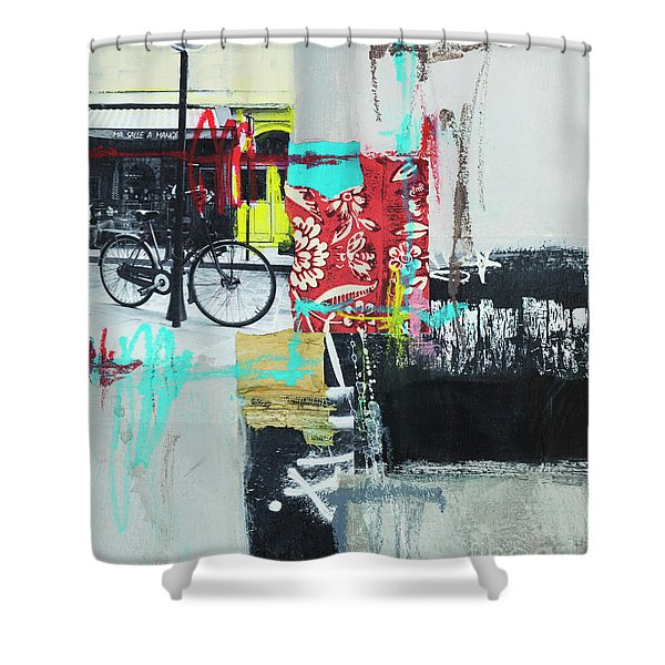 Vacation In Paris Shower Curtain