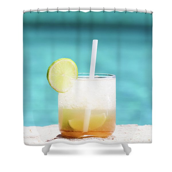 Vacation Sweets Shower Curtain