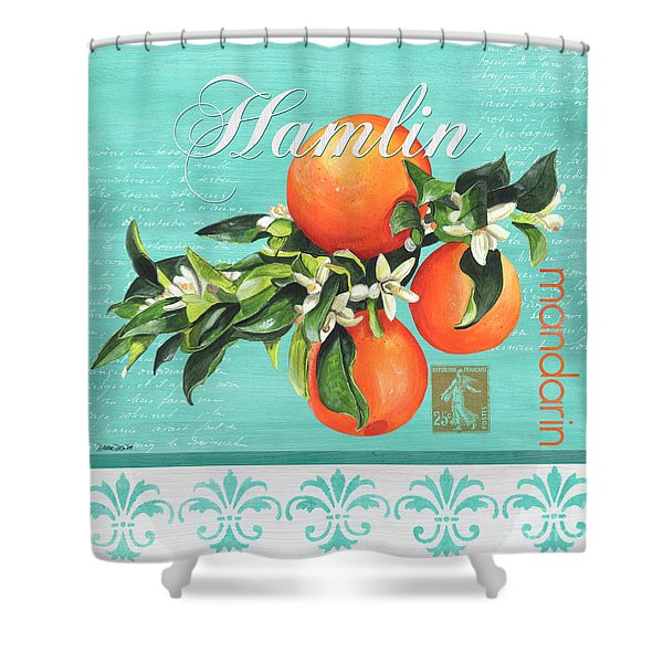 Valencia 2 Shower Curtain