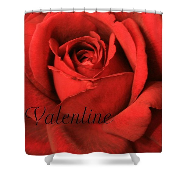 Valentine Shower Curtain by Marna Edwards Flavell