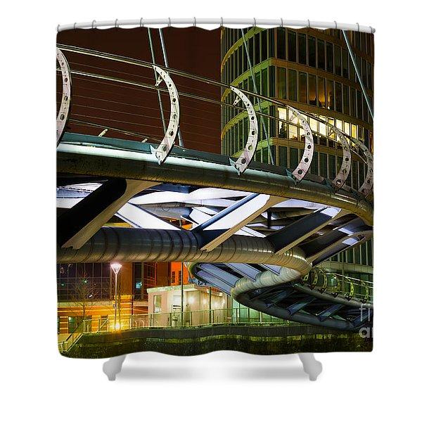 Valentines Bridge, Bristol Shower Curtain