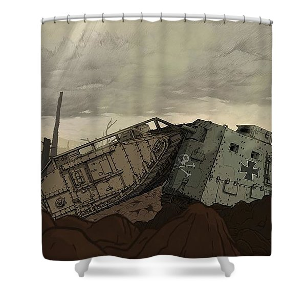 Valiant Hearts The Great War Shower Curtain