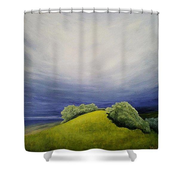 Valle Vista Meadow Shower Curtain