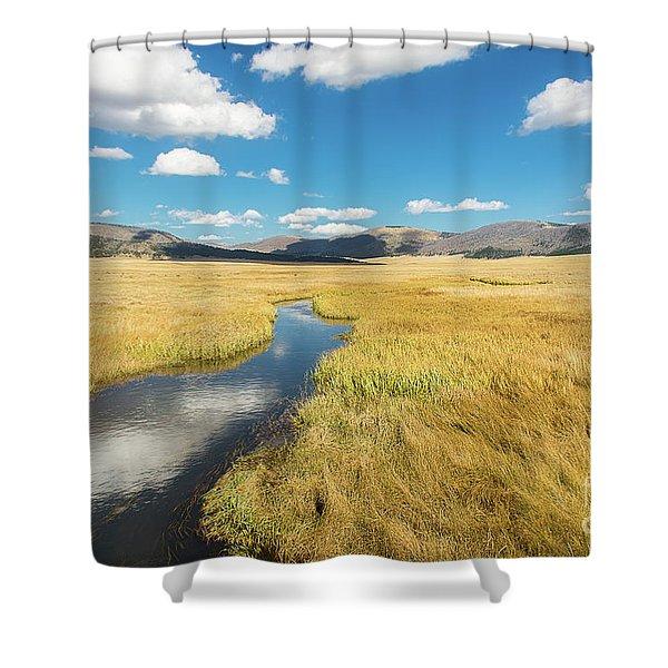 Valles Caldera Shower Curtain